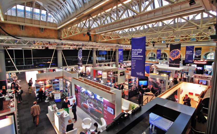 We will be at London Yacht Jet and Prestige Car Show